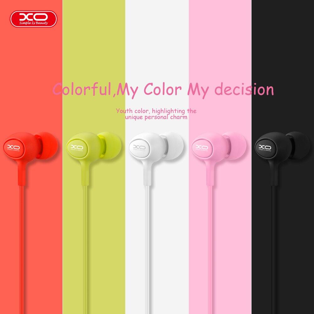 XO S6 auriculares con manos libres de teléfonos del oído Dulces 3.5mm en oído mú