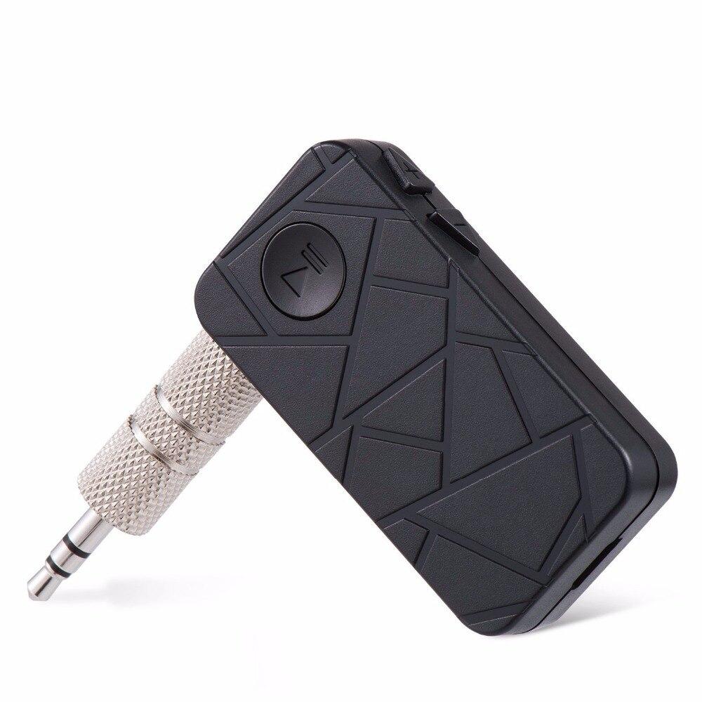 Bluetooth Car Kit Wireless A2DP Music Bluetooth 4.1 Receiver 3.5mm Audio Aux Bluetooth Adapter Car Stereo Receiver para auto