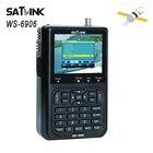 Satlink WS-6906 Digital Satellite Meter Satellite Signal DVB-S FTA satellite Finder MPEG-2 EPG AV 3.5inch LCD Display WS6906