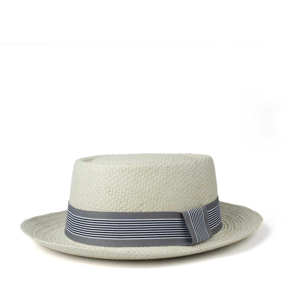 Женская и мужская шляпа от солнца, летняя соломенная шляпа из рафии со свиным пирогом, шляпа от солнца, женская пляжная шляпа на плоской подошве, Панама, пляжная шляпа, 2020