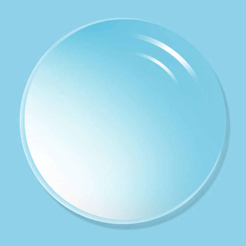 1.67抗ブルーレイ単焦点非球面光学処方レンズuv400抗放射線と反射防止コーティングレンズ