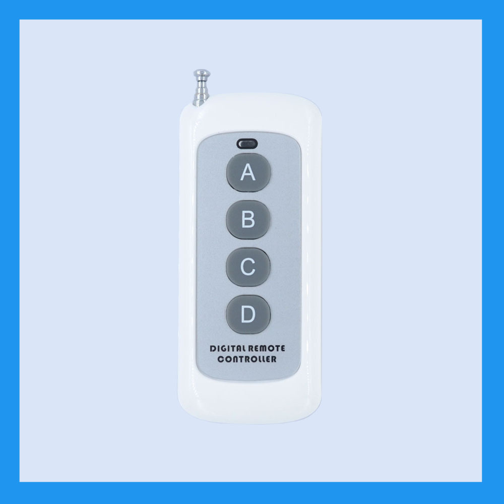 Small Size Long Range Remote Control 4 Button 6 Button 8 Button315433MHZ Transmitter RF ASK 2262 1527 Wireless Remote for Switch-in Switches from ...