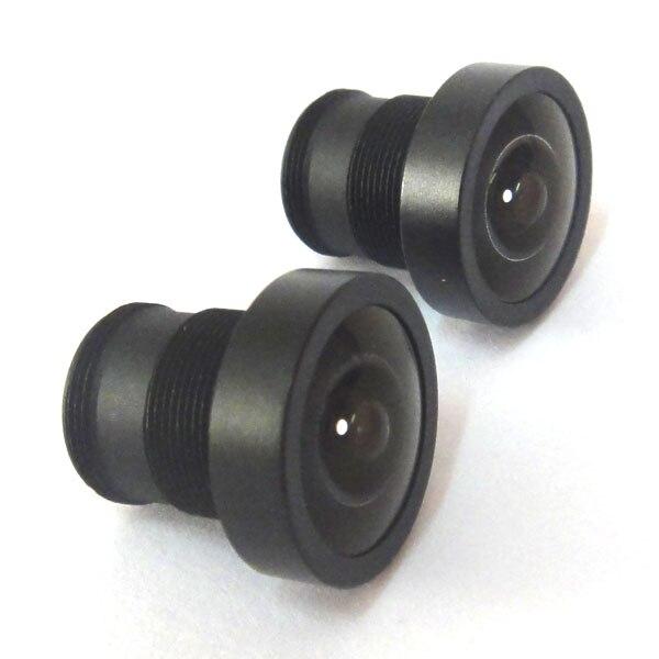 """2 шт. 2,1 мм 150 градусов Широкий формат Объективы для видеонаблюдения Камера ИК совета для обоих 1/3 """"и 1/4"""" CCD cam"""