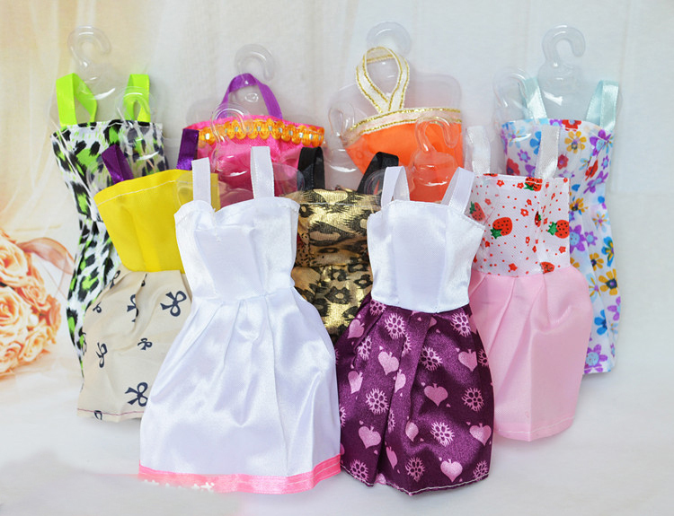 General Parts Clothes Many Different Multicolor Doll Dress Dress Skirt Outfit Fit The 29 Doll