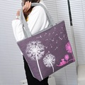 2016 New  Fashion Dandelion Canvas Bag Flowers Women Handbag Shoulder Bags Women Messenger Bags