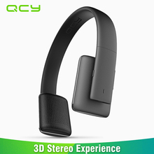 Cheap price 2017 QCY QCY50 wireless Bluetooth headphones CVC6.0 noise cancelling headset gamer hifi 3D stereo mp3 music paly with microphone