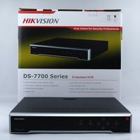 Auf lager Kostenloser Versand Hikvision International Version DS-7732NI-K4 32CH NVR mit 4 Sata-schnittstellen Netzwerk Video Recorder