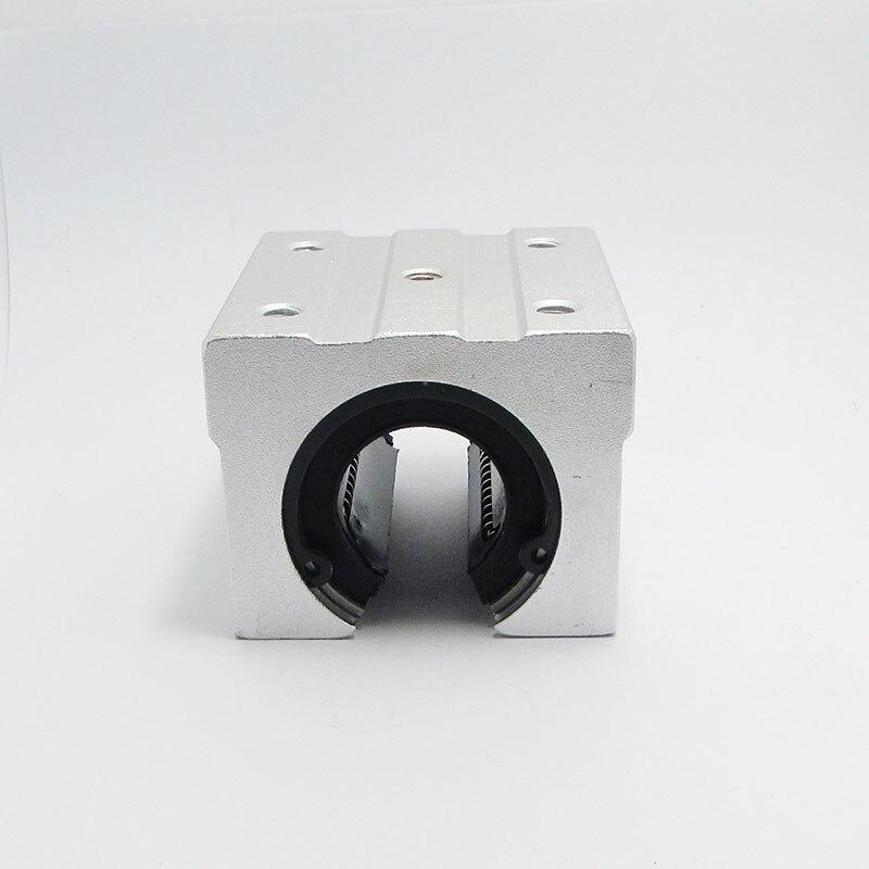 4PCS SBR12UU aluminum block 12mm Linear motion ball bearing slide block match use SBR12 12mm linear guide rail high quality 4 pcs sc12uu scs12uu linear motion ball bearings slide block bushing for 12mm linear shaft guide rail
