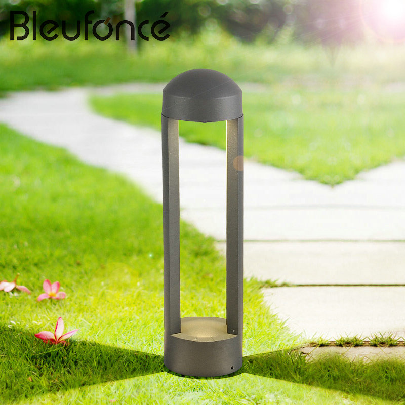 Waterproof LED Lawn Lamp Floor Lamps Outdoor Lighting Landscape Park Community Villa Garden Lights Lawn Lamps AC85-265V BL108 2pcs lot outdoor waterproof ip67 24w square underground buried led lights for garden park backyard lawn alley lane lighting
