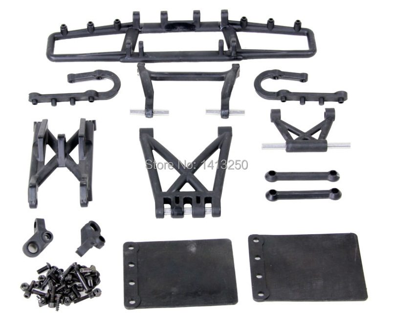 5SC Rear Guard Set  TS-H85203  for baja parts, black  color available  with free shipping . new arrivals baja new suspension arm set ts h85220 for baja parts with free shipping