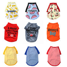 Pet Dog Clothes For Small Dogs Summer Clothes Chihuahua Puppy Clothing Shirt Winter Pet Hoodies For Dogs Costume(China)