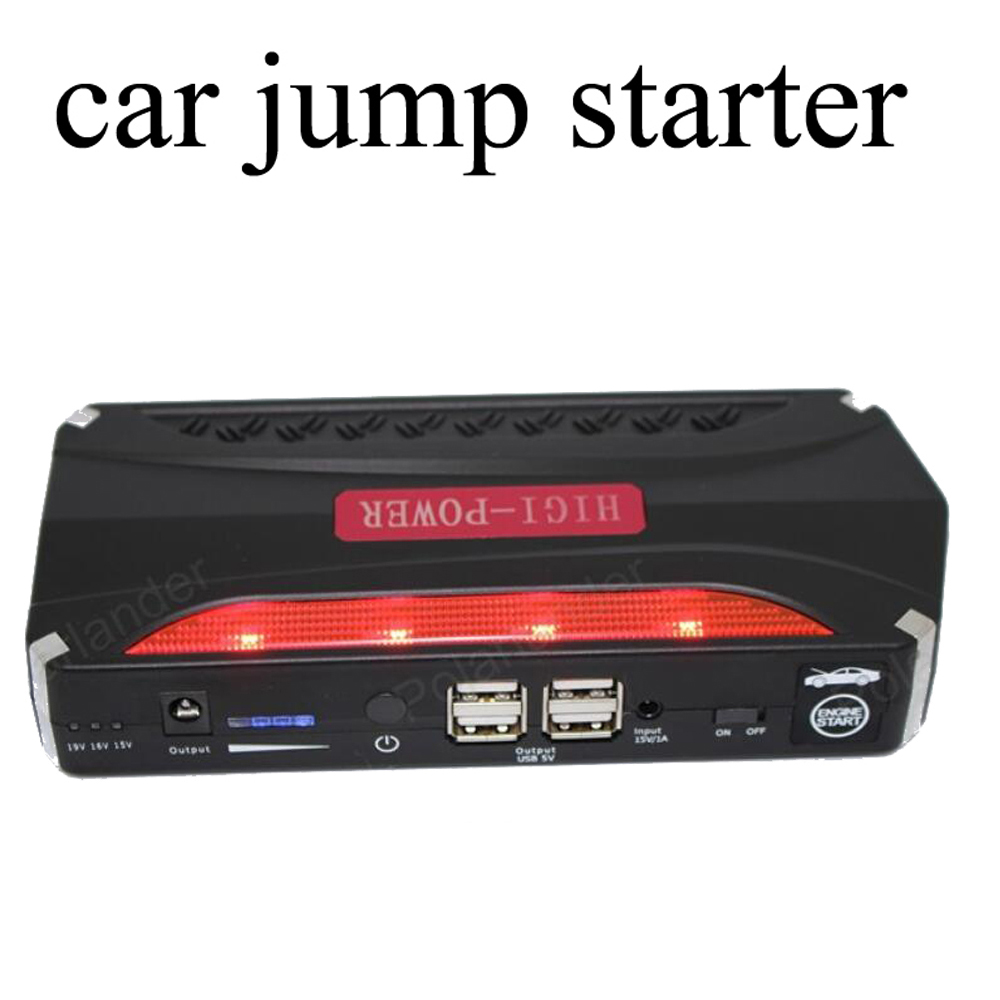 ФОТО best selling  Car emergency Jump Starter 68800mAhMini Portable Emergency Battery Charger for Petrol & Diesel Car