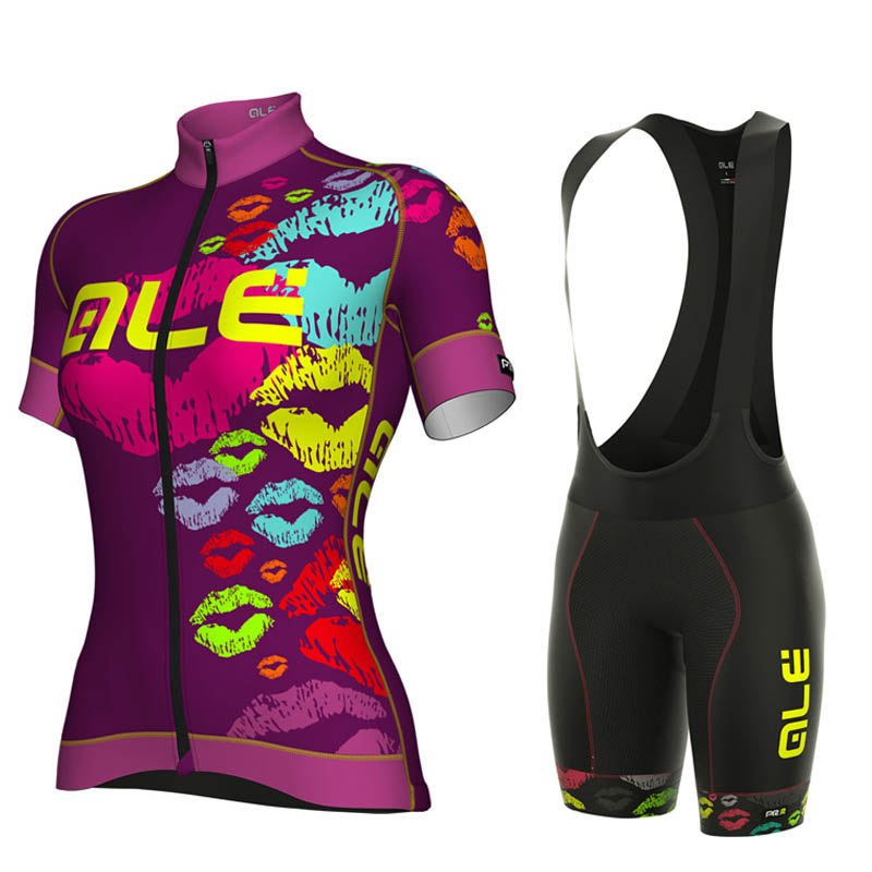 Cycling Sets for Women New Summer Bike Jersey Sets Breathable Quick-Dry Bicycles Short Sleeve Clothes Top + Pad Shorts Pants