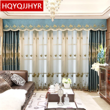 2695 europe and the united states burst skull dj creative personality living room bedroom tv background decorative wall Europe and the United States top embroidery curtains for Living Room Windows luxury classic custom villa curtain for Bedroom