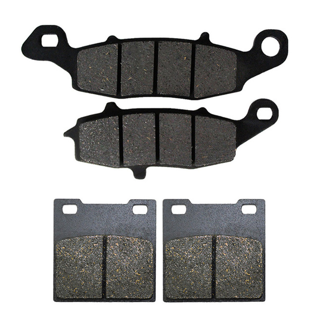 SYUU Motorcycle Replacement Front Rear Brake Pads Brakes for Suzuki GS 500 GS500 1996-2010 FA231F FA063R