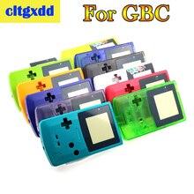 Cltgxdd מלא שיכון מעטפת כיסוי עבור Nintendo GameBoy צבע GBC תיקון חלק שיכון מעטפת חבילה משחק מכונת אביזרי פגז