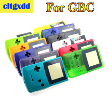 цена на cltgxdd Full Housing Shell Cover For Nintendo GameBoy Color GBC Repair Part Housing Shell Pack Game Machine Shell Accessories