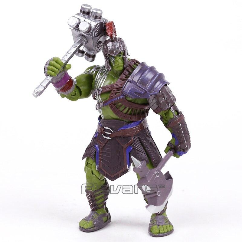 Thor 3 ragnarok hulk robert bruce banner pvc figura de ação collectible modelo brinquedo 20cm
