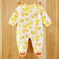 MACACO Macacão de Bebê da menina Pijamas ternos Do Corpo Do Bebê One-piece Romper QUALIDADE SUPERIOR
