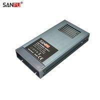 SANPU 24V Power Supply Unit 400W Rainproof IP63 Outdoor No Fan Constant Voltage 24VDC LED Driver AC220V to DC24V Transformer