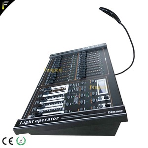 Image 2 - 24 Channels DMX 512 Dimming Console Intelligent Dimmer Controller Table With LED Lighting For Show Affordable Free Shipping