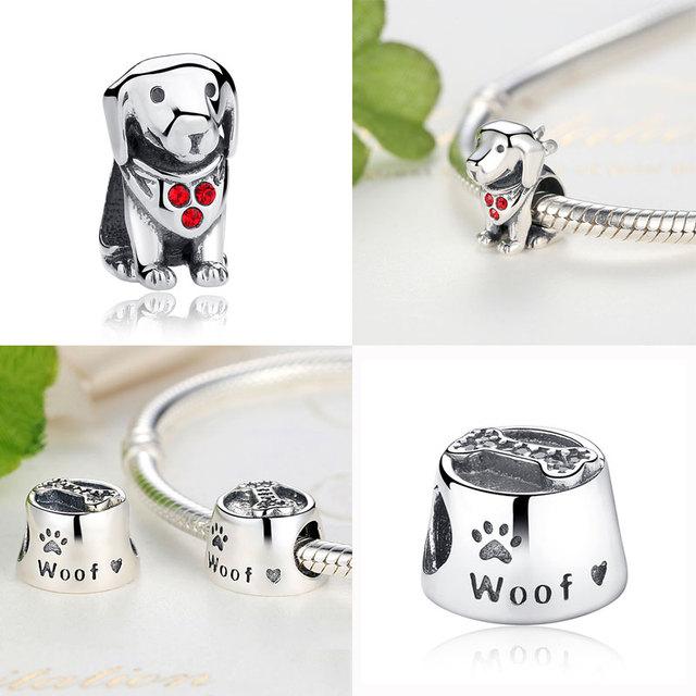 Animal doggy bone pendants charms