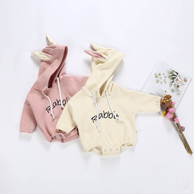 New 2018 Cartoon Hot Sale Cute Toddler Kid Baby Girl Boy Rabbit Letter Sweatshirt Tops Romper Pullover Christmas Clothes