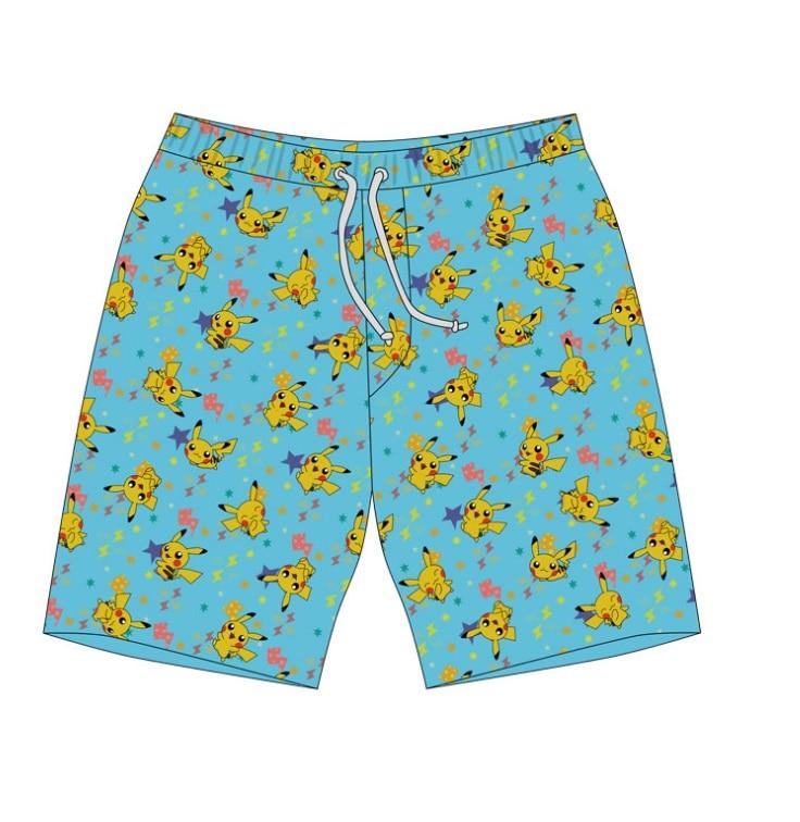 255d250482d6e Pokemon Pikachu Men's Swim Trunks-in Board Shorts from Men's ...