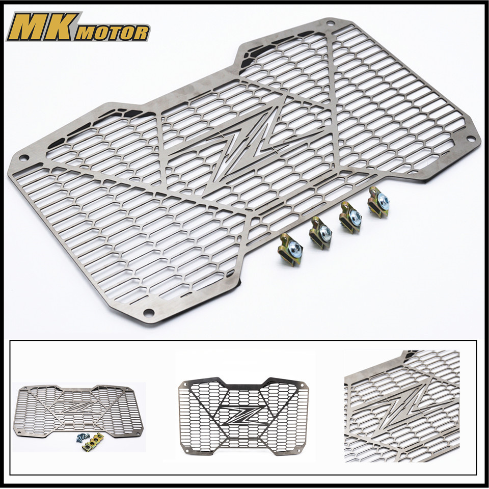 BYSPRINT Z 650 Motorcycle Accessories radiator grille guard protection For Kawasaki Z650 2017 Stainless Steel for kawasaki z750 z 750 2007 2015 2011 2012 2013 2014 stainless steel motorcycle black radiator grille guard protection cover