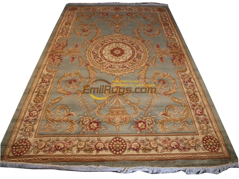 French Savonnerie Hand Knotted Wool Pile Oriental Rug Folk Carpet Wool Knitting Carpets Antique Runner RugsFrench Savonnerie Hand Knotted Wool Pile Oriental Rug Folk Carpet Wool Knitting Carpets Antique Runner Rugs
