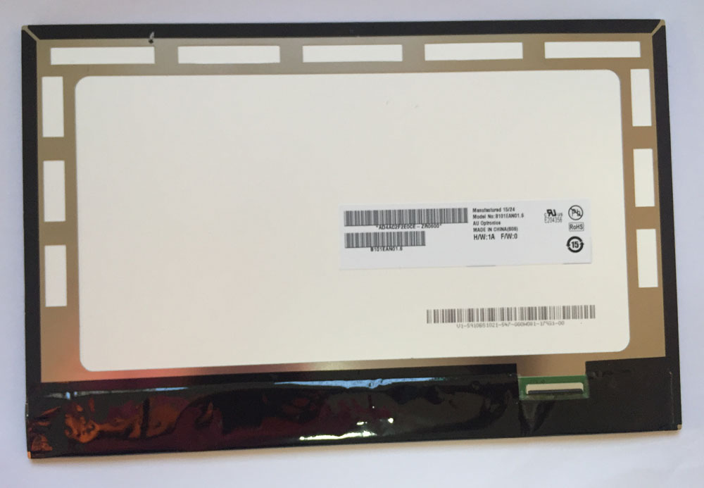 B101EAN01.1 B101EAN01.6 For ASUS TF103 TF103CG ME103 K010 ME103C ME103K ME102 ME102A LCD Display Panel Screen