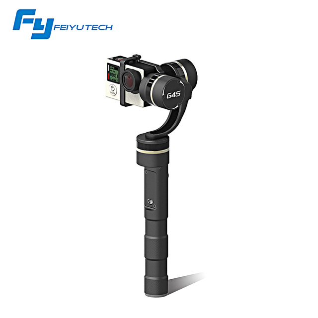 FeiyuTech G4S new item of brushless motor handheld 3 axis moving without limited