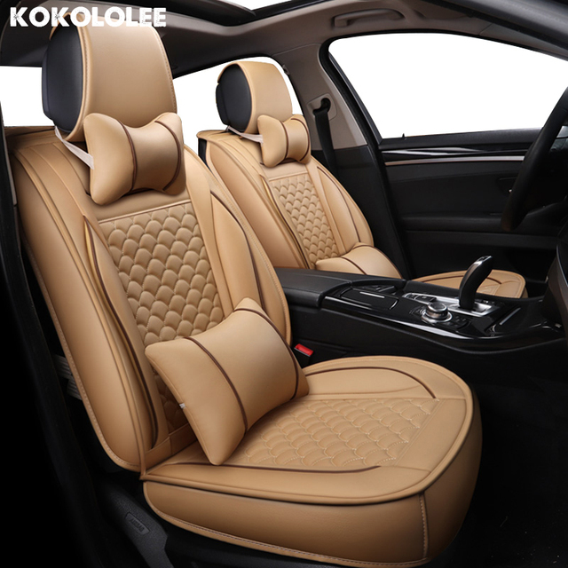 Kokololee Pu Leather Car Seat Covers For Toyota Corolla Vios Prado