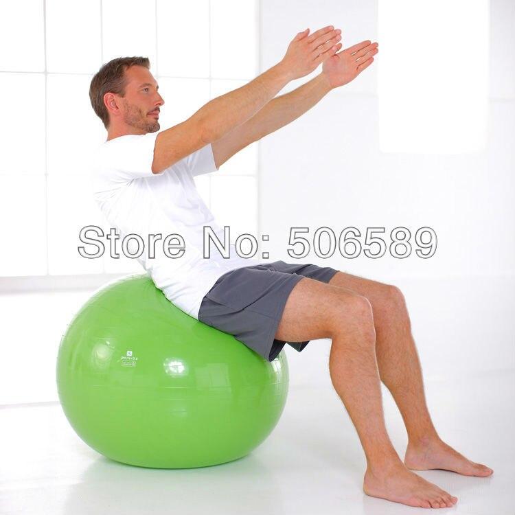 Livraison gratuite yoga ball fitness musculation 3 tailles avec pompe à air
