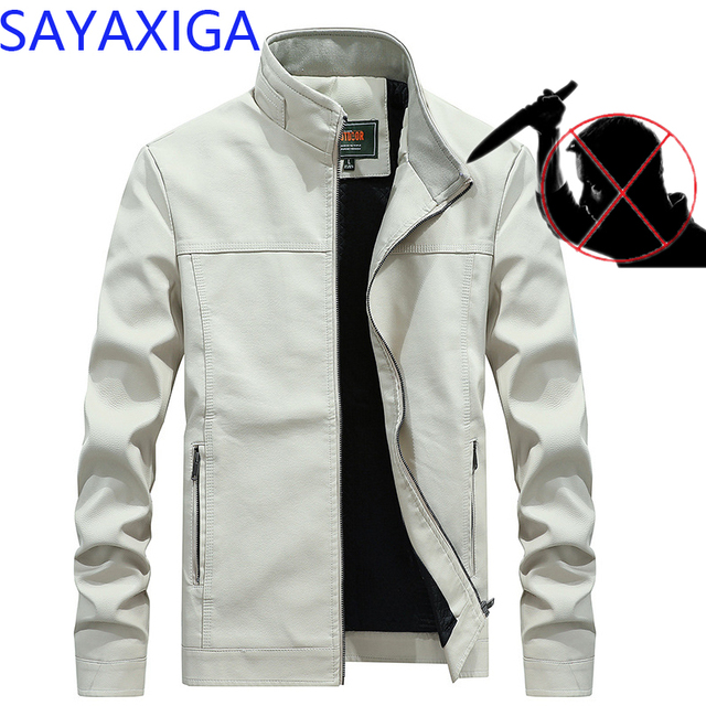 Self defense Tactical Gear Stealth Cut proof PU Jacket Knife Cut Resistant Anti Stab Clothing Cutfree stabfree Security Clothes