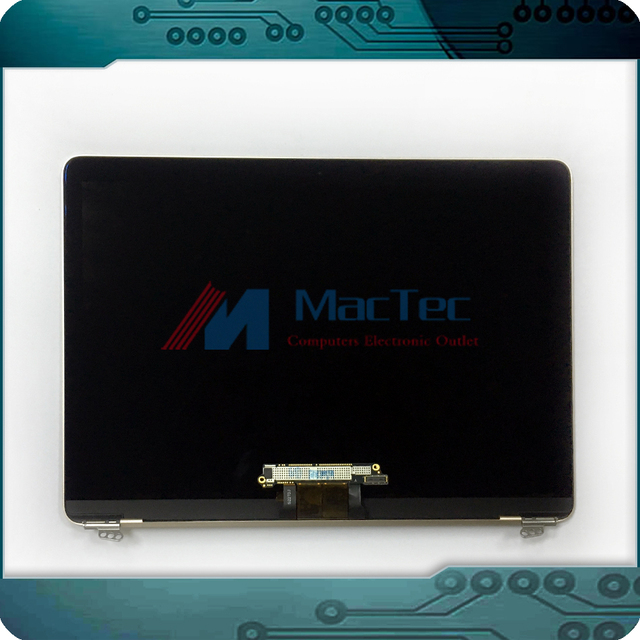 """Genuine NEW  Silver Color Full LCD LED Screen Display Assembly for Apple Macbook Retina 12"""" A1534 Early 2015 & 2016 Year"""