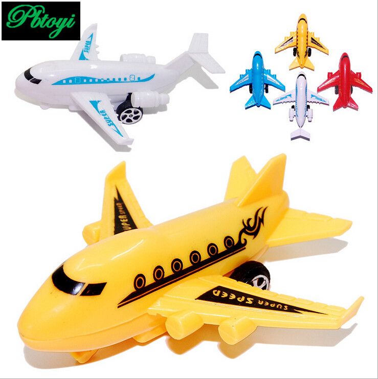 US $5 44 |5PCS Children's Plastic Toys Wholesale Puzzle Little Toys Mixed  Batch Small Plane Warrior Mini Aircraft Little Gift 20g FA1020-in Model