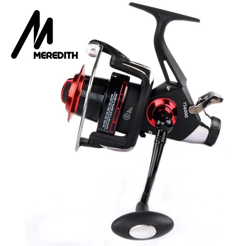 Meredith 5BB + 1RB 10KG 22LB 5.2: 1 Double Drag REAR Spinning Reel - Visvangst - Foto 5