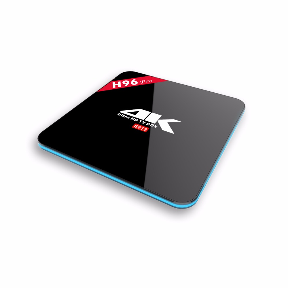 RAM 3G Amlogic S912 android 6.0 TV Box Dual WiFi Lan BT4.0 H.265 KODI Pre-installed media player box Android smart set top box m8 fully loaded xbmc amlogic s802 android tv box quad core 2g 8g mali450 4k 2 4g 5g dual wifi pre installed apk add ons