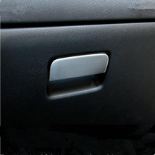 Car-Styling stainless steel interior storage box handle trim decoration sticker case For MITSUBISHI Outlander ASX Lancer 2013+