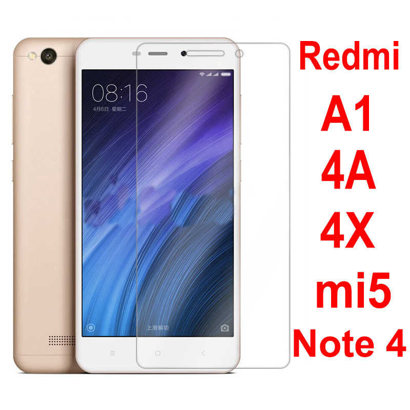 Tempered glass for redmi4 4X 4A 2.5D 9H screen protector for xiaomi redmi note4 4x 4a for xiaomi5splus redmi note5 note6pro film