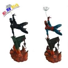 Marvel Sideshow Spiderman The Amazing Spider-man 2 Colors PVC Action Figure Collectible Model Doll Toy 29cm