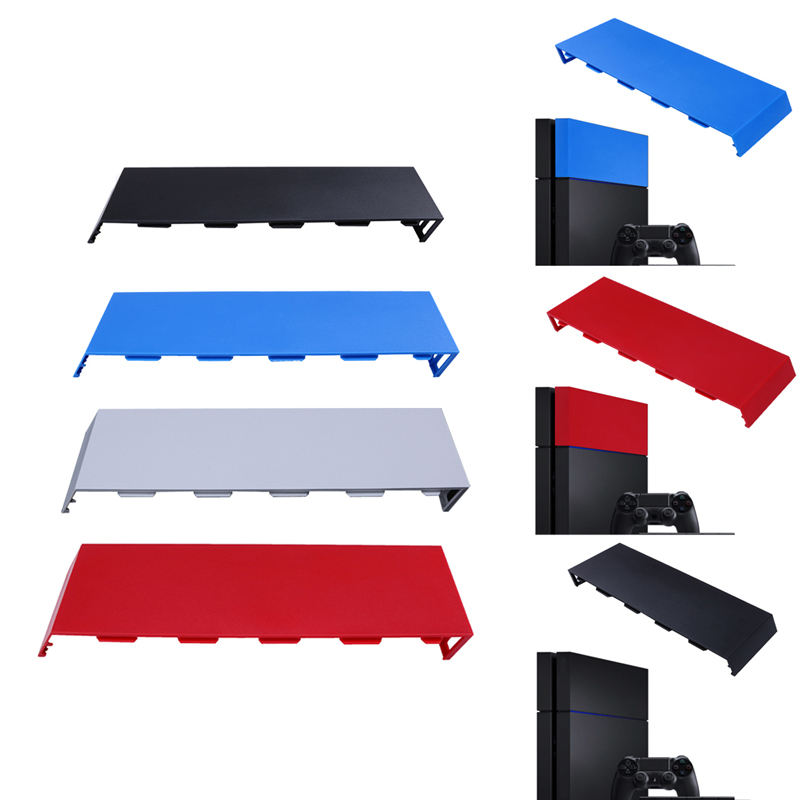 лучшая цена Colorful HDD Bay Cover Hard Disc Drive Cover Case For PS4 Faceplate For Sony PlayStation 4 PS 4 Game Host Console Replacement