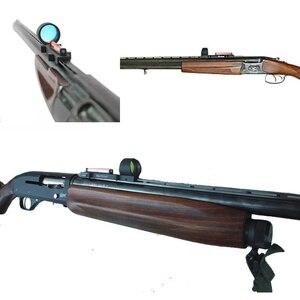Image 4 - ציד סקופס קל משקל סיבי Sight 1x28 אדום Dot Sight היקף אדום וירוק סיבי Fit רובי ציד צלעות רכבת ציד ירי