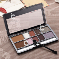 Makeup Palette Shimmer Diamond Eyeshadow Kit Eye Shadow + Eyebrow Powder Smokey