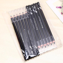 Hot Black Eyeliner Pencil Pen Durable Waterproof Eyeliner Makeup Tools 24pcs lot For Sale