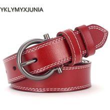 Women Leather Belt Brand Ladies Belts Length: 95-105cm Belts For Female 2018 cinto feminino couro Ceinture femmes width:2.8cm