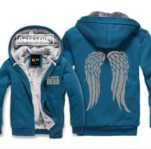 Excessive-Q Unisex The Strolling Lifeless Daryl Dixon Wing hoodies jacket Strolling Lifeless Daryl Dixon lovers Cardigan Hoodies jacket coat