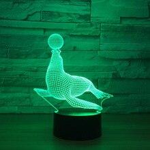3D LED печать модель игрушки интерьера модель с LED Украшения подарок коллекция