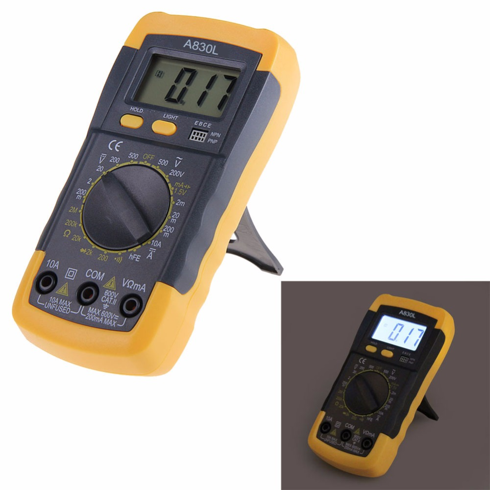 Digital Measuring Instrument : Vktech digital multimeter electronic measuring instrument